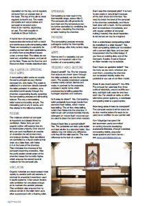 Magazine article about waterless composting toilets in Australia. Mentions Nature Loo, Rota-Loo, Clivus Multrum, and Sun-Mar. Written by Kym Mogridge and published by Pip Magazine.