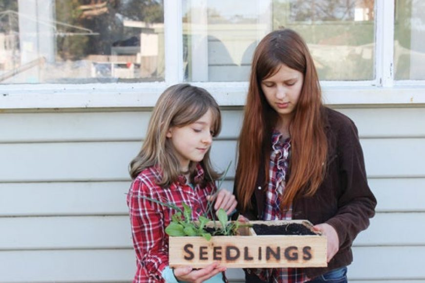 Introducing children to permaculture