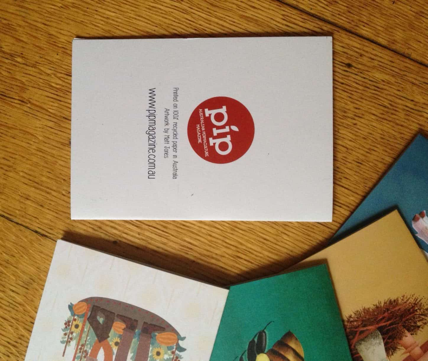 Pip Greeting Card Pack Pip Magazine Australian Permaculture
