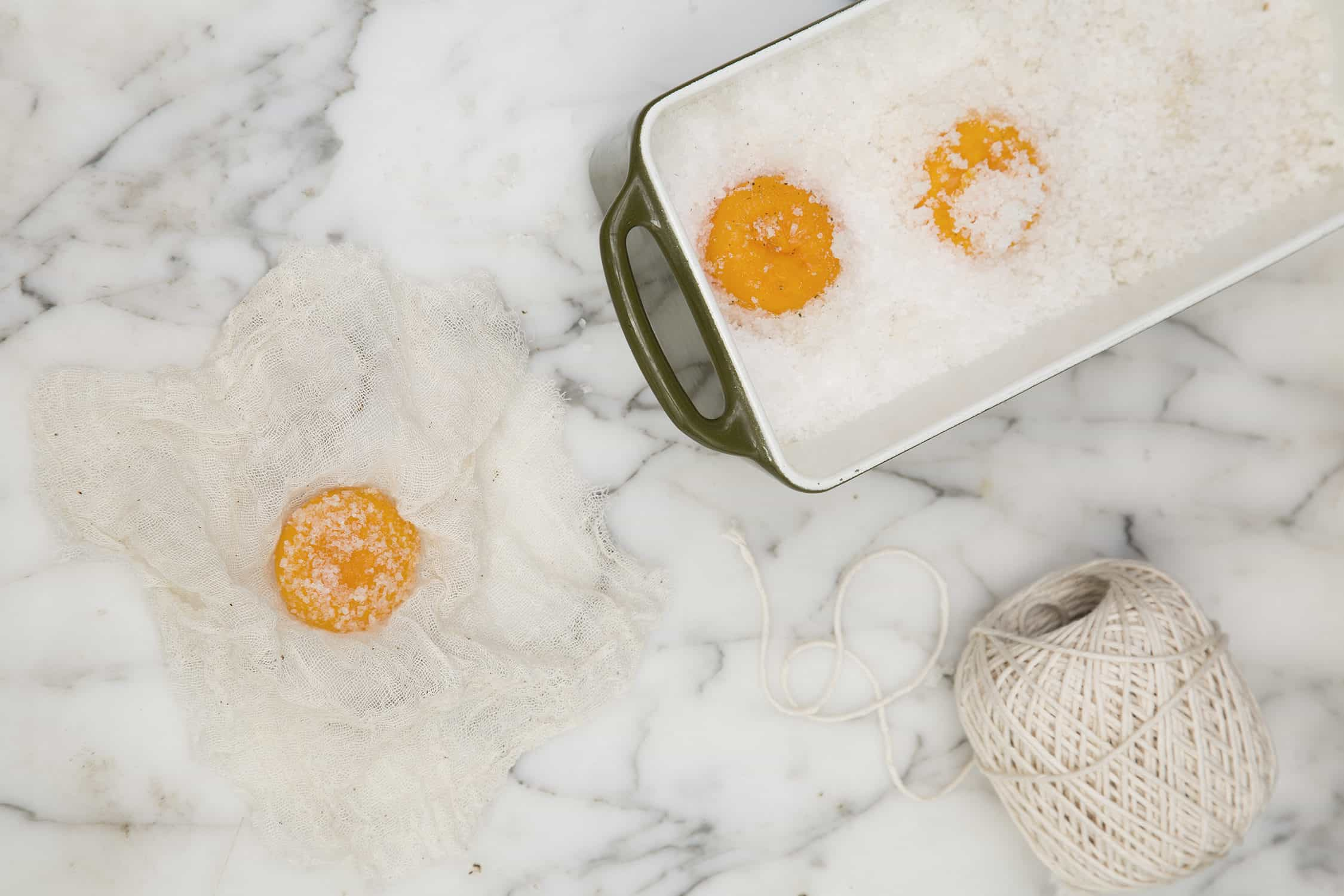 Salt Cured Yolks
