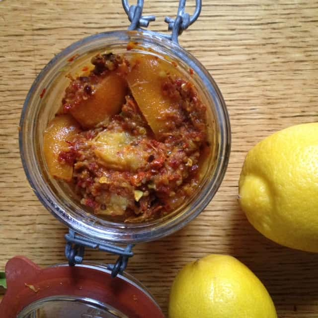 Spicy Indian Lemon Pickle Pip Magazine Australian Permaculture