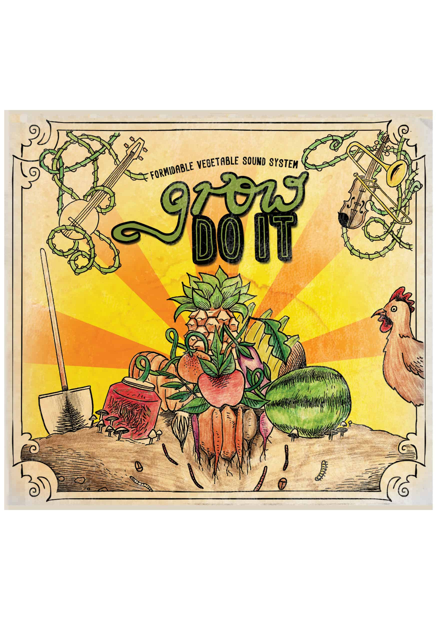 Grow Do It CD cover