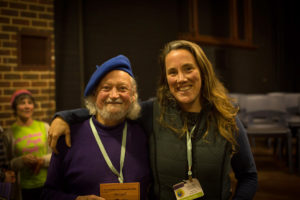 Phil Gall and Robyn Rosenfeldt at the convergence