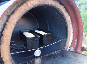 Rocket Powered Oven