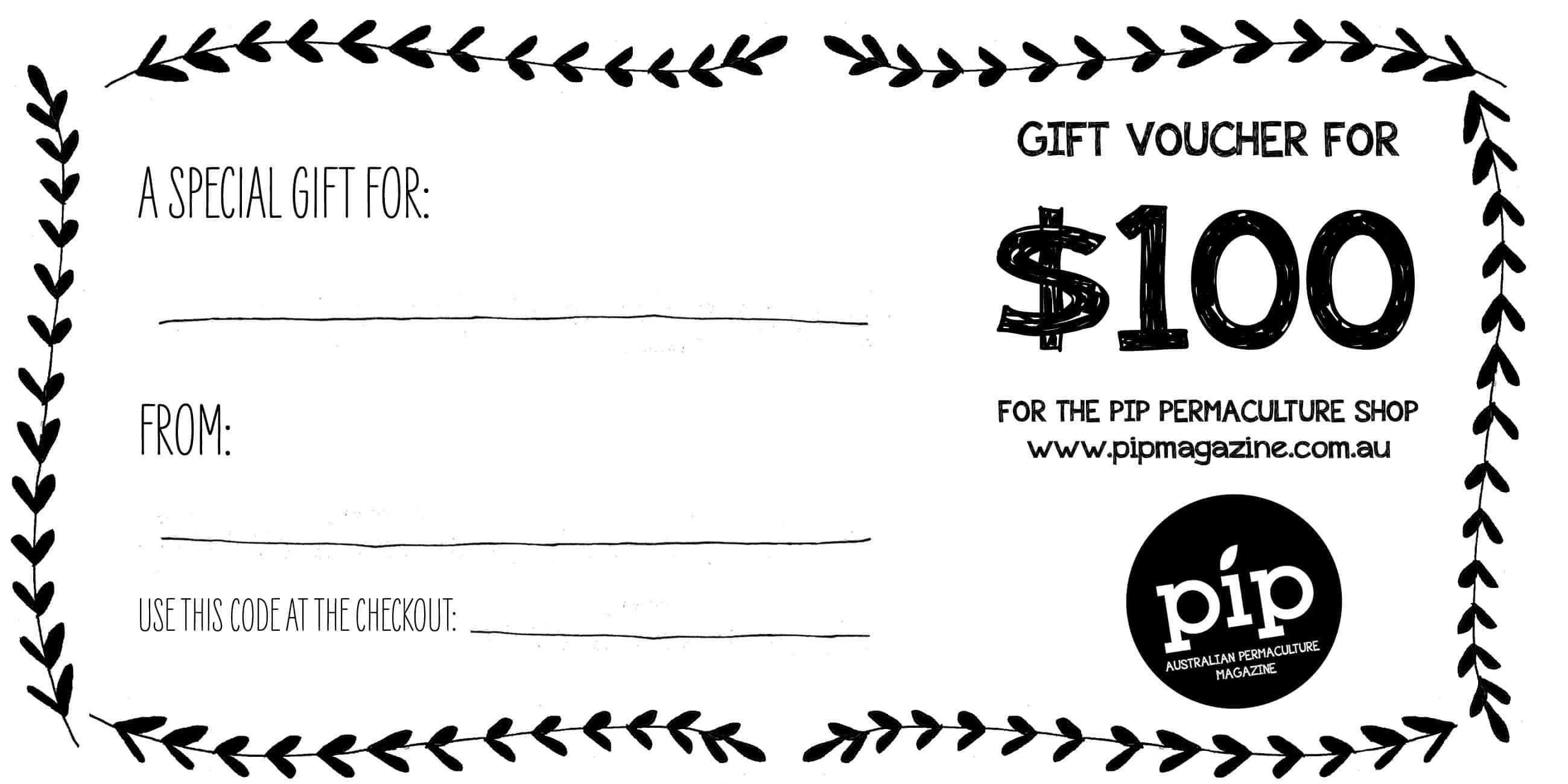 how to send gift vouchers to australia