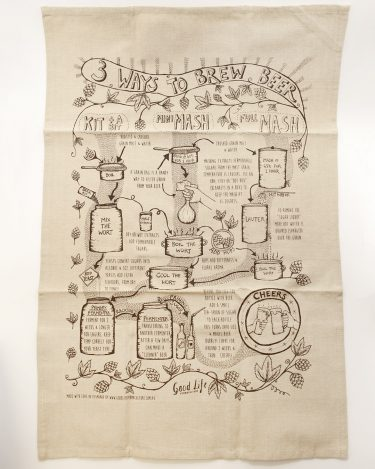Homebrew Tea Towel