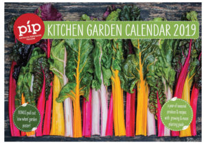 2019 Pip kitchen garden calendar