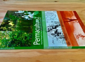 Image of the side view of Permaculture Two by Bill Mollison
