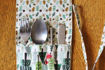DIY Cutlery Keeper Tutorial