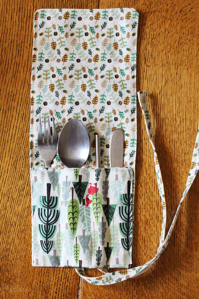 Diy cutlery keeper tutorial pip magazine australian permaculture do you often find yourself out and about without a fork to eat your lunch a spoon to stir your tea or a knife to share your morning snack solutioingenieria Choice Image