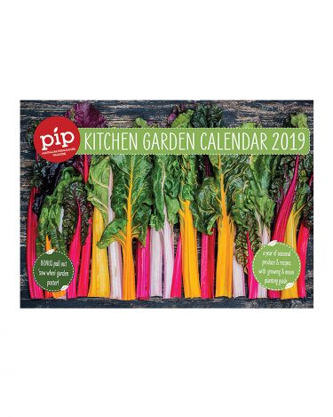 Pip 2019 Kitchen Garden Calendar