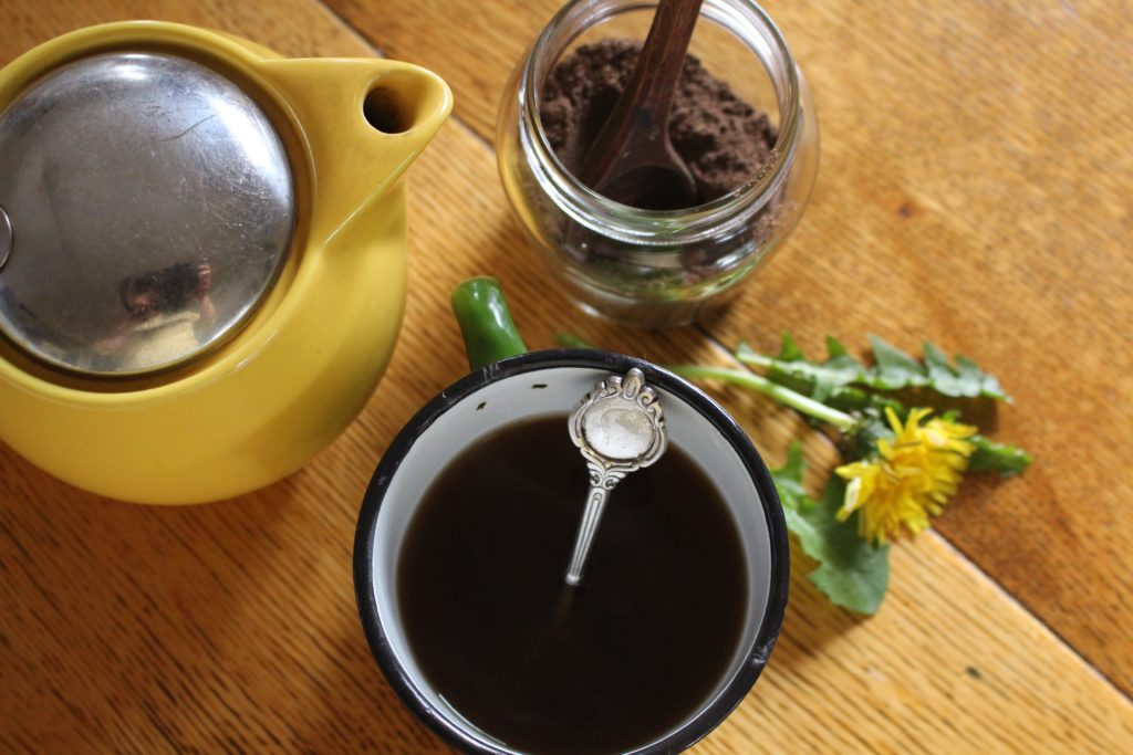 learn how to make dandelion tea