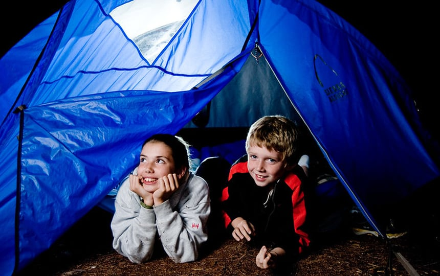 boredom busters camping