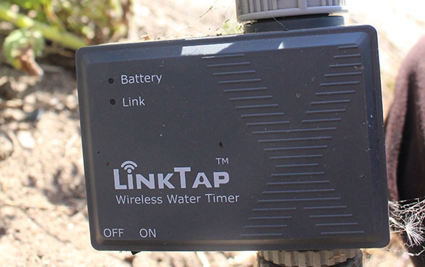 linktap helps you water plants while away