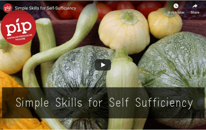 Simple Skills for Self Sufficiency