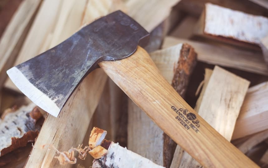 Urban Firewood Forager's Guide axe