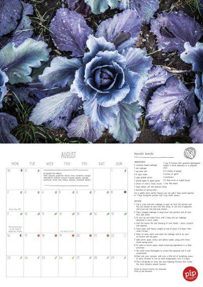 August calendar spread