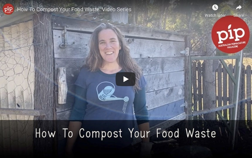 how to compost food scraps