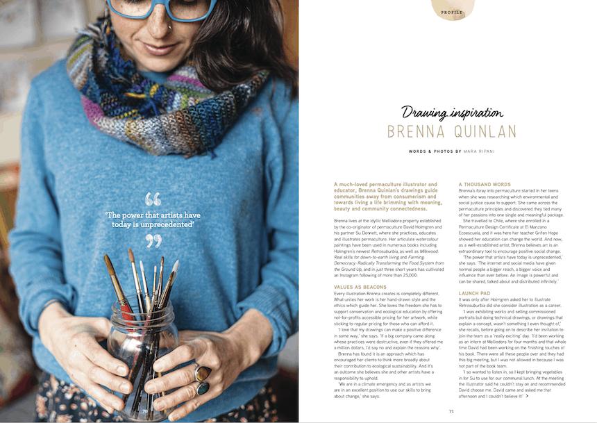 Issue 18 Brenna Quinlan