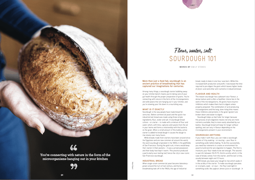 Issue 18 sourdough bread